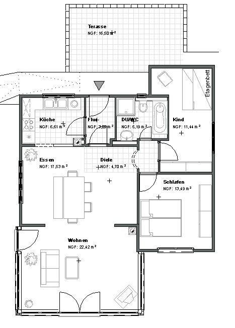 Upper floor flat haus gottschalk holiday apartments in for Ferienhaus gottschalk